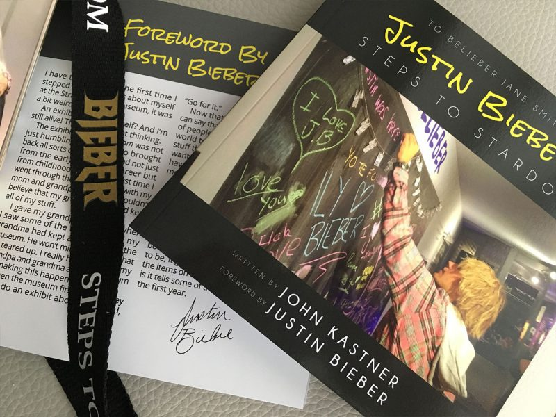Justin Bieber Steps to Stardom book